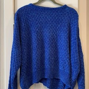 Woven Heart Sweater- Medium